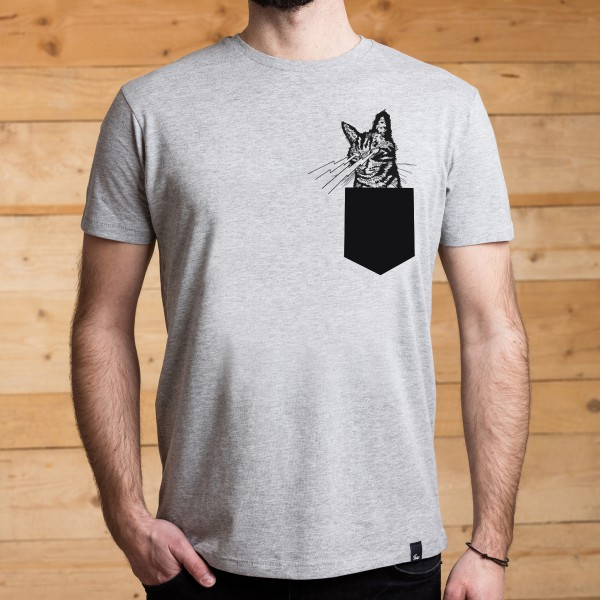 FUXS - Pocket-Shirt - Lasercat