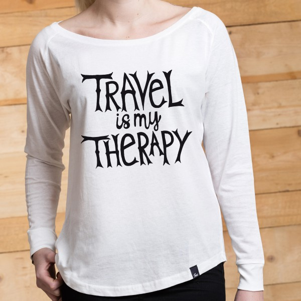 FUXS - LONGSLEEVE - Travel is my Therapy