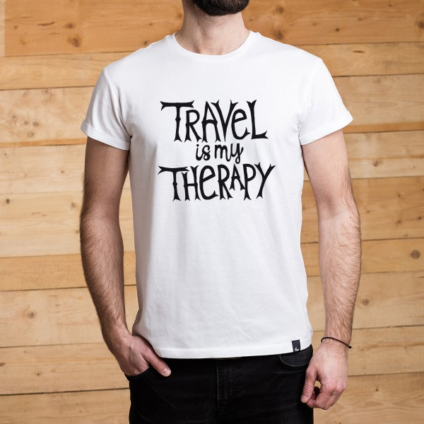 FUXS - SHIRT - Travel is my Therapy