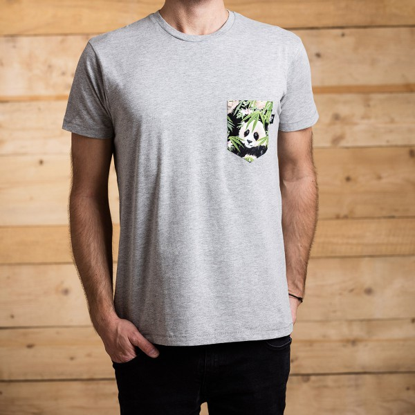 FUXS Panda Pocket T-Shirt