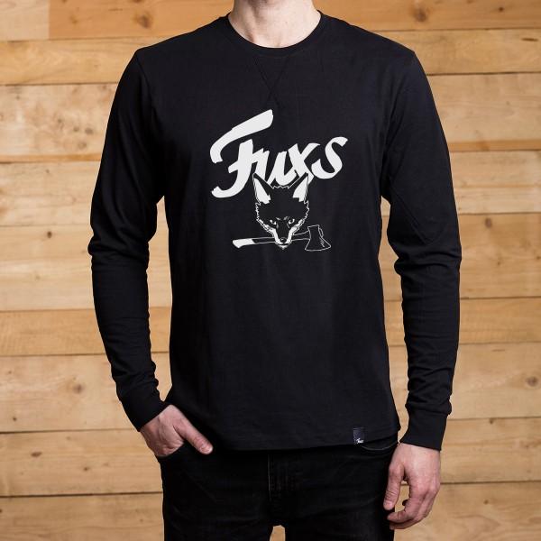 FUXS - LONGSLEEVE - Black Logo